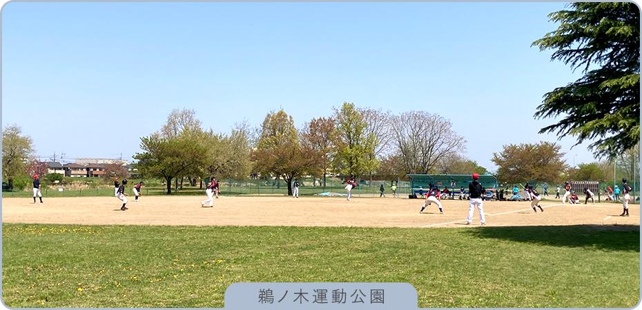 鵜ノ⽊運動公園